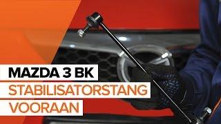 Hoe Stabilisatorkoppelstang vervangen MAZDA 3 (BK) - gratis instructievideo