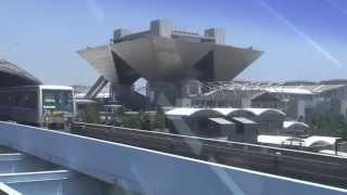 ゆりかもめ発車オーライー青海ー国際展示場正門(ビックサイト)から有明へ(5分間)