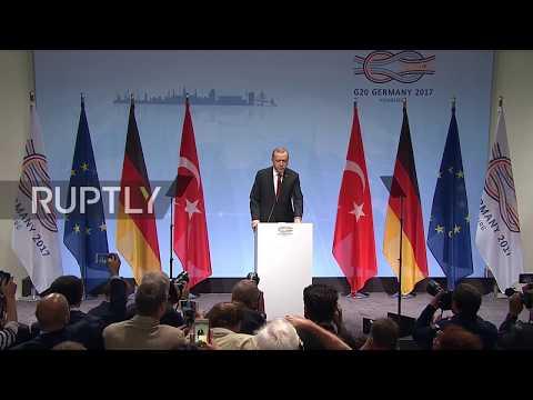 Germany: Turkey will not allow a Kurdish state in Syria - Erdogan