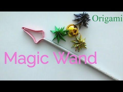 How to make a magic Wand? Christmas Crafts  easily
