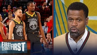 Stephen Jackson on why Curry is GSW's most important but KD is the best player | FIRST THINGS FIRST