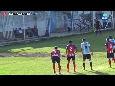 Primera D : MUÑIZ 1 - 2 DEPORTIVO PARAGUAYO (Los Goles)