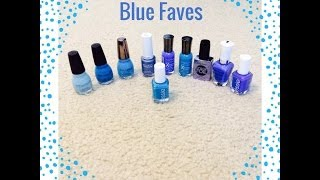 Favorite Blue Nail Polishes for Summer 2014 - SINFUL COLORS - Cinde...