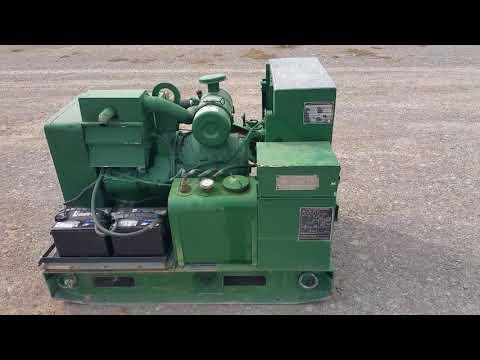 US Navy/ Department of Defense Diesel Generator Generator Set Diesel Engine