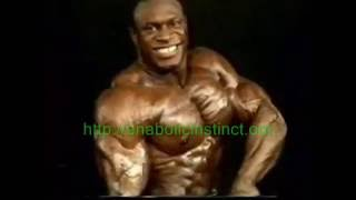 Lee Haney Posing In 1984 Mr.Olympia