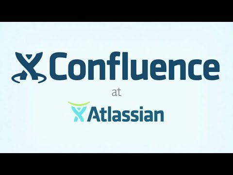 Atlassian Confluence Demonstration Video