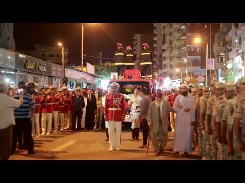 آلاف المصريين يشيعون الجنود الذين سقطوا في الواحات البحرية  - نشر قبل 54 دقيقة