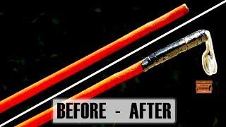 Кращий спосіб відновити шкарпетці зламану вудку |How to fix broken fishing rod мис