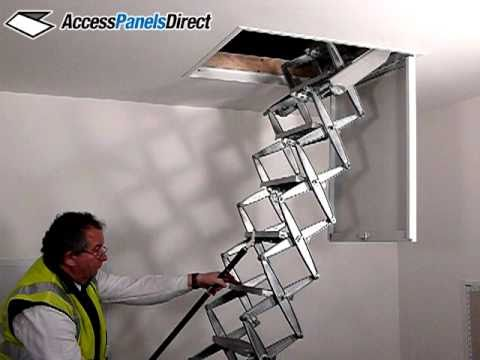 Access Panels Direct Ceiling Mounted Retractable Zip