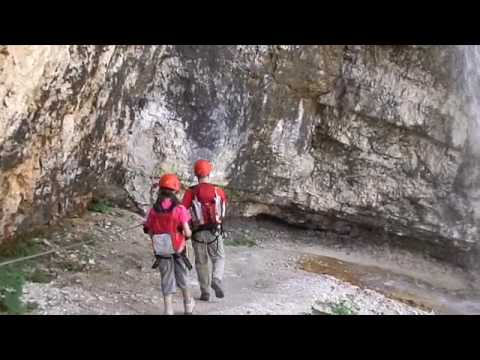 Via Ferrata Cascate di Fanes - YouTube f477da5a90c