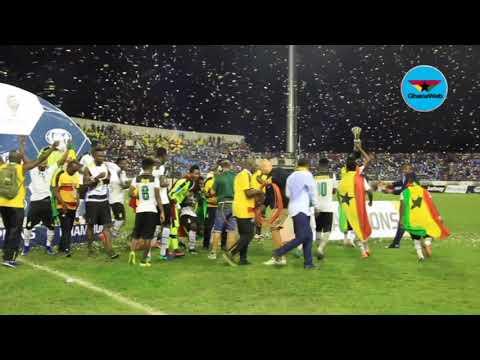 Black Stars B jubilate after winning WAFU Cup