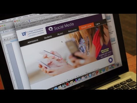 UF College of Journalism Online Masters Program commercial