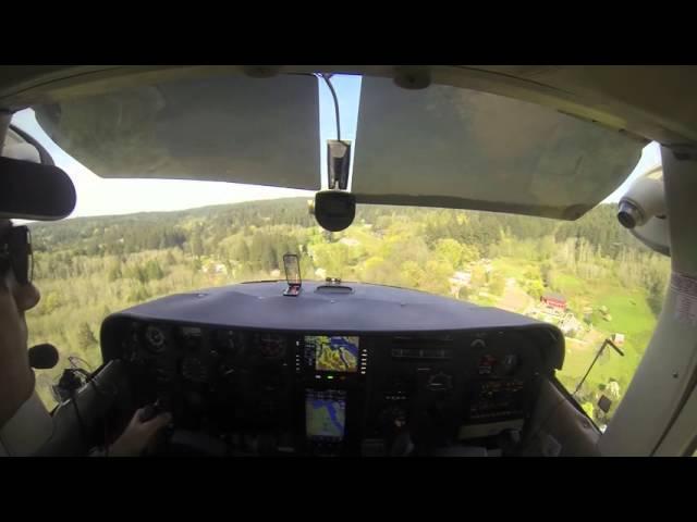 Vaughn Ranch WA landing C182
