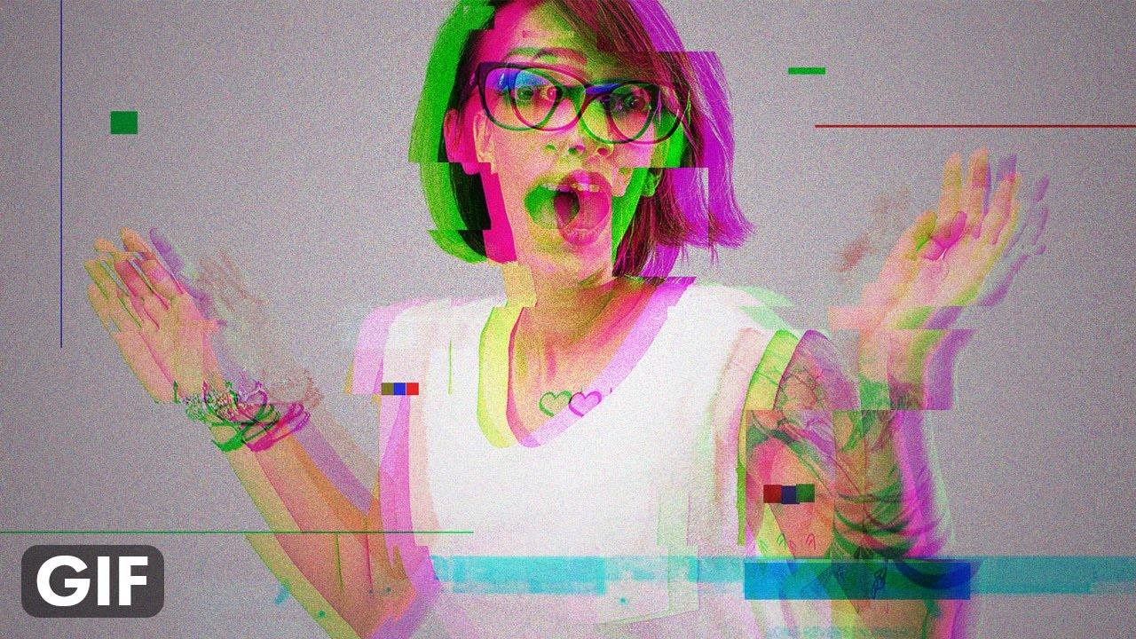 GIF Animated Glitch - Photoshop Tutorial