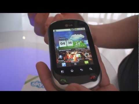 LG Optimus Chat Hands-On (Telus)