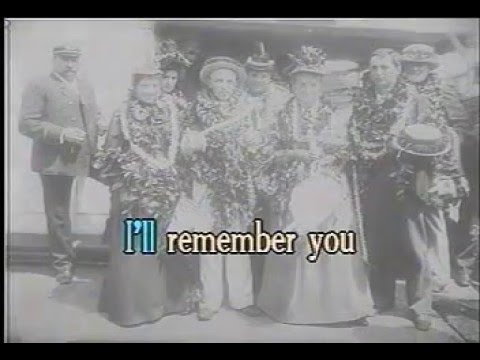 Hawaiian Karaoke - I'll Remember You