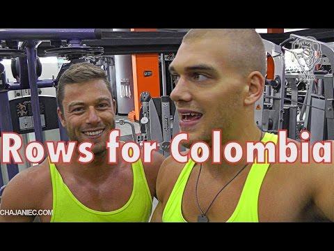 Brutales Pull Workout mit Stojan Leiser im Bodytec Medellin Kolumbien
