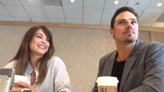 beauty and the beast sdcc batbsdcc 2013 interview with kristin kreuk and jay ryan cw