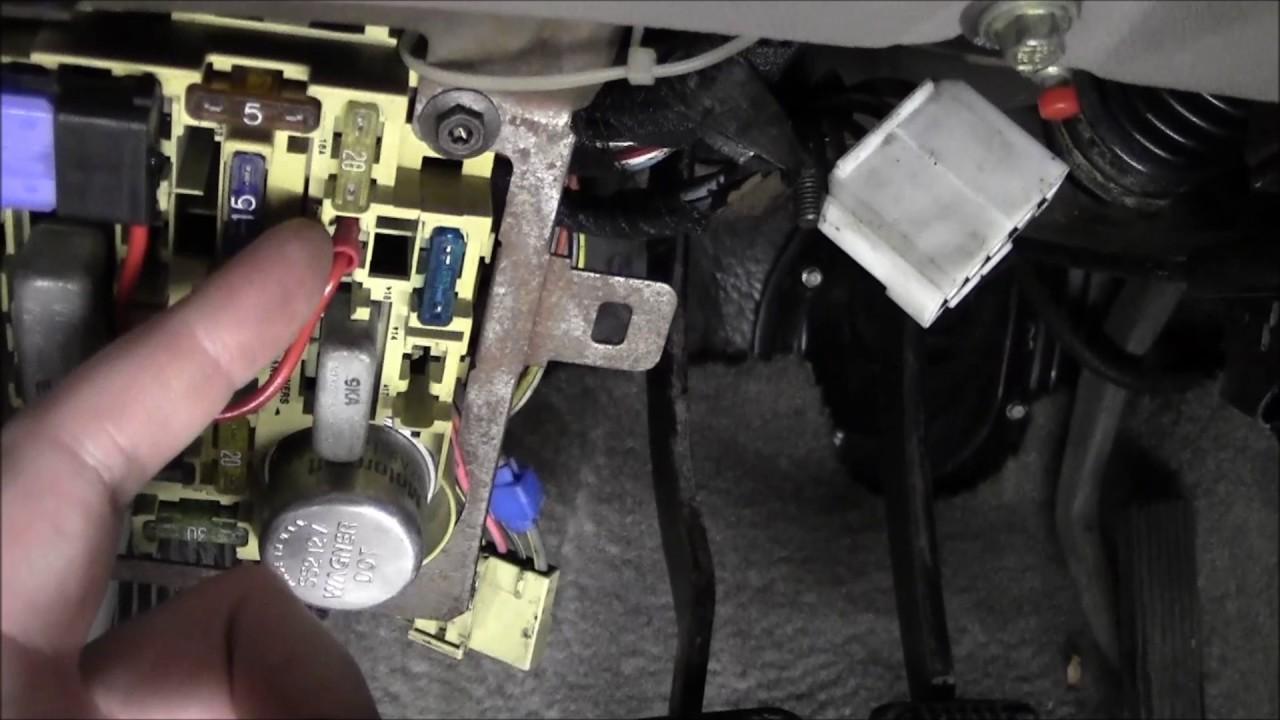 Fox Mustang Fog Light Rewiring