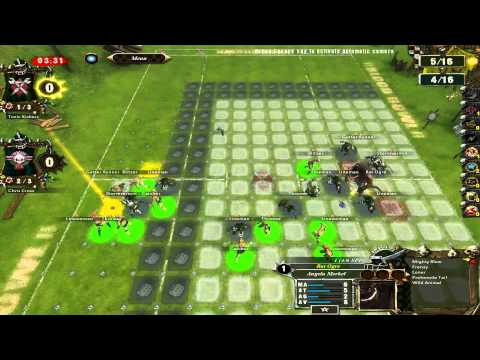 Reddit blood bowl league 3.5: Group 1. Chris Cross (Elcidthehero) VS Toxic Kickers (noopi)