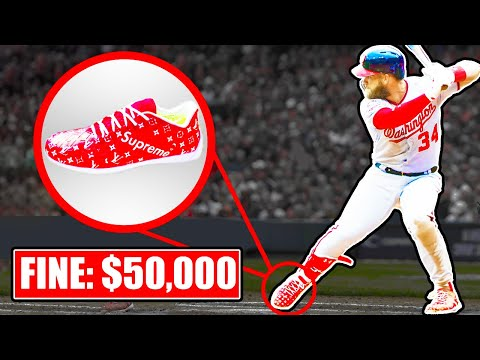 6 BANNED Cleats In The MLB
