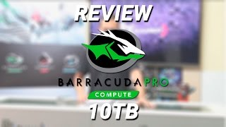 SEAGATE BarraCuda Pro 10TB HardDrive Review