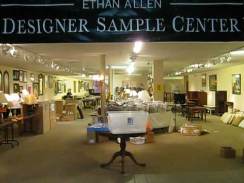 Ethan Allen Warehouse Preview