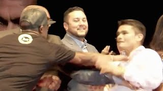 Floyd Mayweather Jr almost Punched Marcos Maidana at the Maidana 2 Press Conference - Full Video