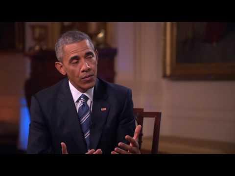Ingrid Nilsen Interviews Obama