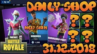 Fortnite New Item Shop 31.12.2018 Fortnite ITEM SHOP Daily Shop December 31th New Skins