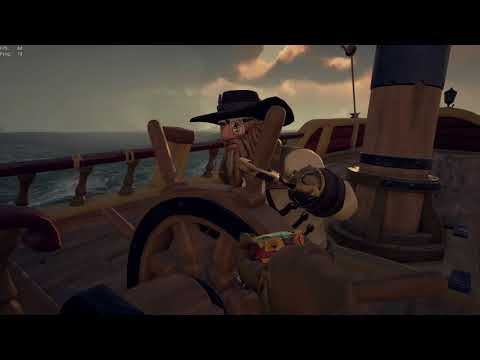 Sea of Thieves a chill Gold hoarder galleon farm (part 1)