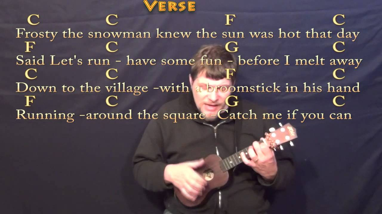 Frosty the snowman ukulele cover lesson in c with chordslyrics frosty the snowman ukulele cover lesson in c with chordslyrics hexwebz Gallery
