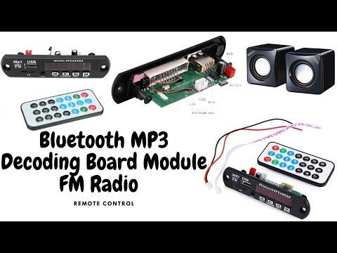 Bluetooth Usb Fm Mp3 Player Module |