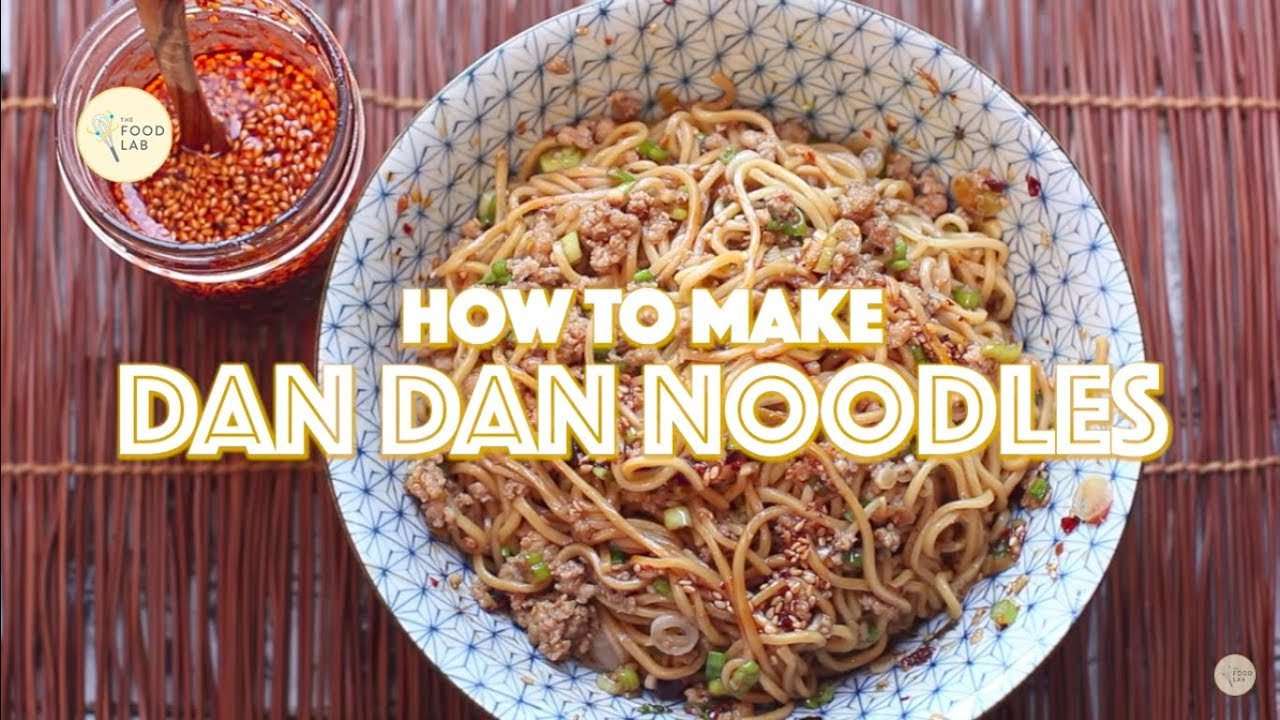 How to Make Dan Dan Noodles - YouTube