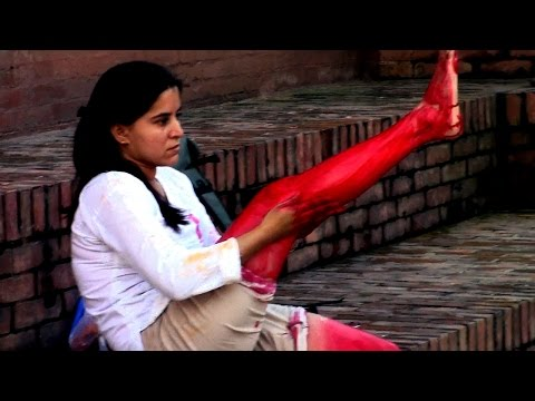 Performance Art (Moments of Rejoice) By Kamini Chaudhary, India