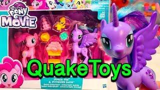 New My Little Pony The Movie Pinkie Pie Princess Luna MLP Sweet Celebrations Play Set QuakeToys