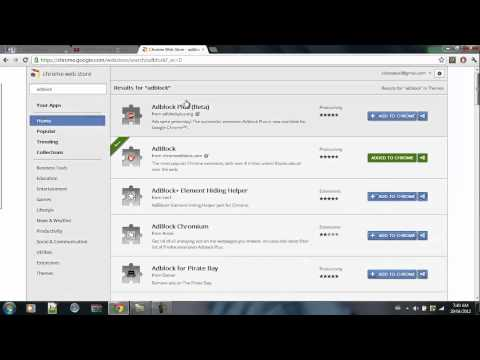 Tutorials: How To Download A Adblock For Google Chrome