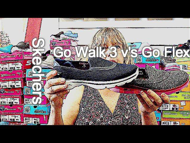 differences between Skechers Go Walk 3