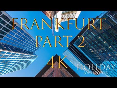 Skyline FRANKFURT Am Main Auch Nachts In 4K Teil 2
