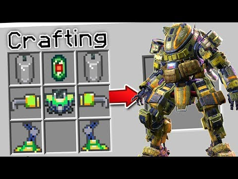 CRAFTING A GIANT ROBOT IN MINECRAFT?!
