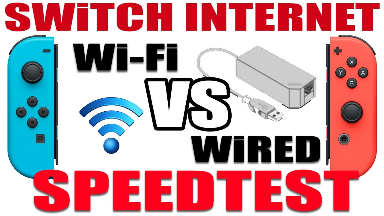 SWITCH INTERNET SPEEDTEST | Wi-Fi VS. Wired (LAN Adapter) - YouTube