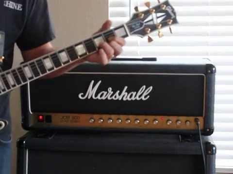 1983 Marshall JCM800 2205 50 Watt Guitar Head Quick Demo