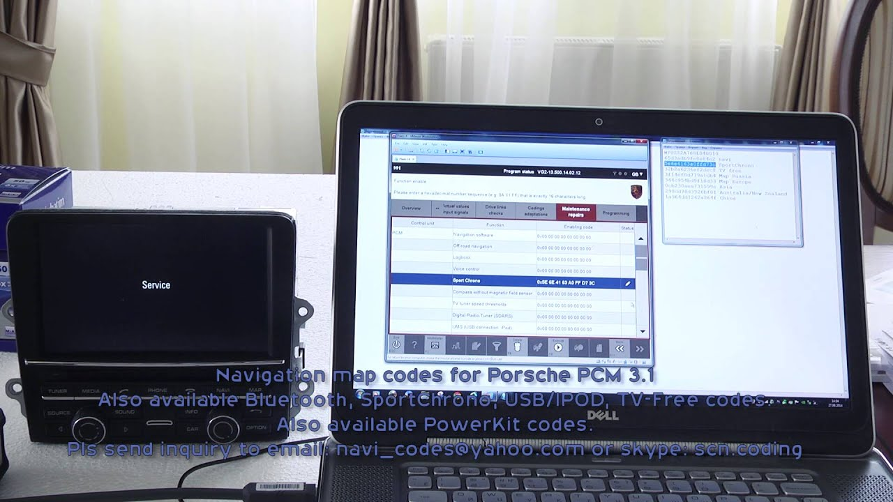 porsche pcm 3 1 navigation codes youtube. Black Bedroom Furniture Sets. Home Design Ideas