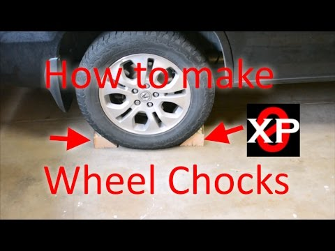 Wheel Chocks Quick and Dirty, How to Make