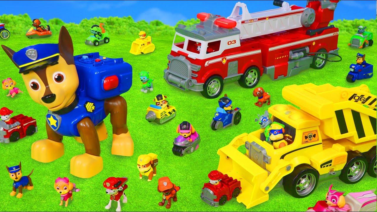 Download ألعاب باو باترول - سيارة المطافي, الأبطال تشيس, رايدر و رجل الإطفاء Paw Patrol Toys