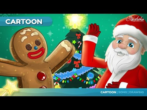 The Gingerbread Man Cartoon | Bedtime Stories for Kids in English