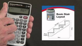 Construction Master Pro DT Basic Stair Layout How To