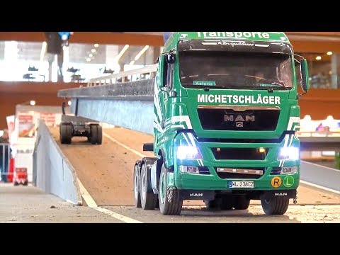 RC Truck Heavy Haulage MAN I LONG RC Truck Transport I Long Vehicle I