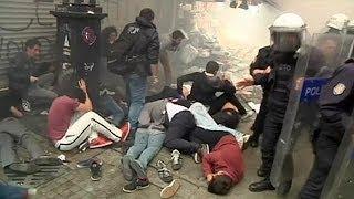 Turquie: heurts à l'occasion de la commémoration de la fronde de Taksim