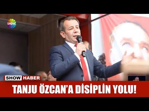 Tanju Özcan'a disiplin yolu!